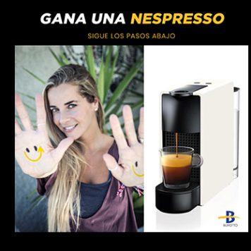 ¡Gana una Nespresso, comparte felicidad!